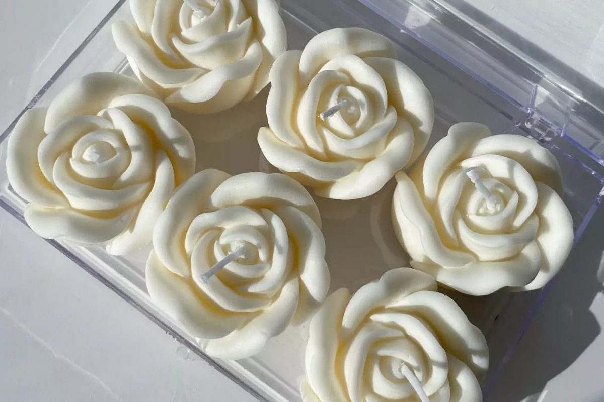Rose-Shape Candles by Toronto Sisters Sell Out After TikTok Fame